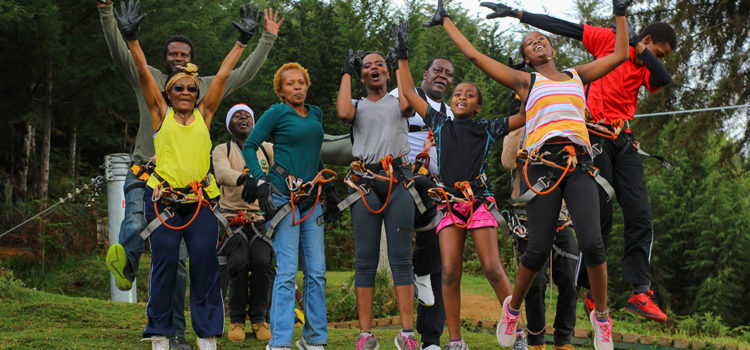 Kereita Zip lining Fun daytrip